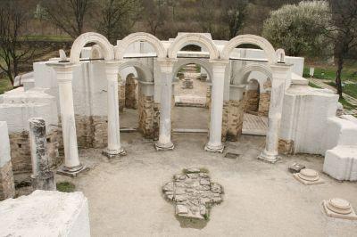 Кръгла църква - ротонда - АМ Велики Преслав