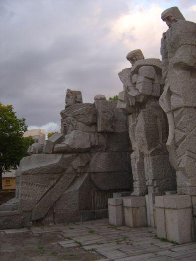 Паметник на цар Симеон и книжовниците, център - АМ Велики Преслав