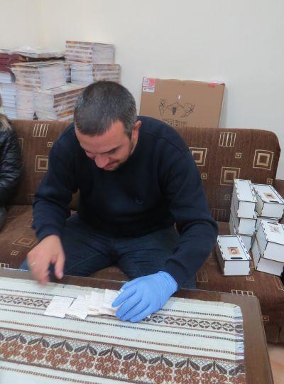 Консервация и реставрация на моливдовули от Стратегията във Велики Преслав 2