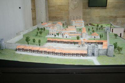 Макетна възстановка на Вътрешния град - АМ Велики Преслав